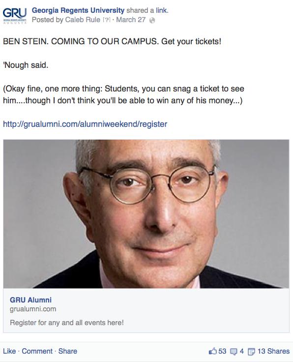 Was it even possible to NOT make a Win Ben Stein's Money joke?