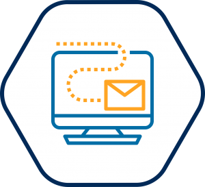 Digital email icon